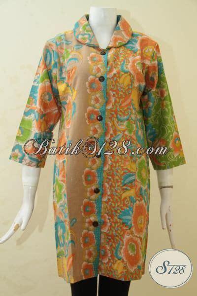 desain baju batik formal wanita batik dress terbaru tahun ini pakaian batik formal desain