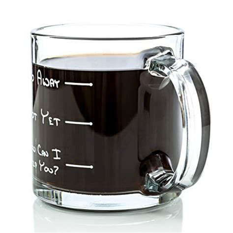 cool office gifts go away funny glass coffee mug 13 oz unique birthday