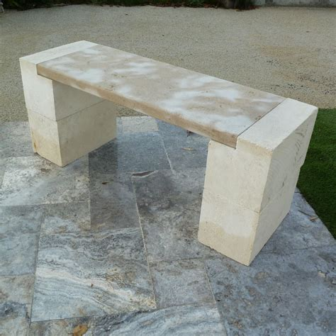 limestone bench rustic french limestone garden benches from france