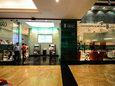 nbad bank branches national bank of abu dhabi in dubai mall of the emirates
