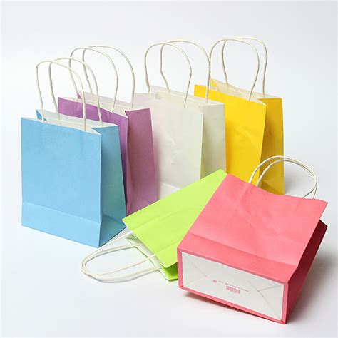 Paper Bag Warna Mini Bc colorful kraft paper gift bag wedding handle paper gift bags alex nld