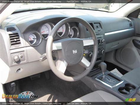 2008 Dodge Charger Interior by Light Slate Gray Interior 2008 Dodge Charger Se