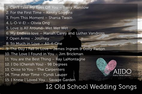 wedding song from school aiido the ultimate guide to wedding songs