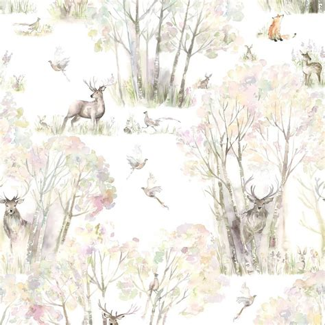voyage enchanted forest wallpaper
