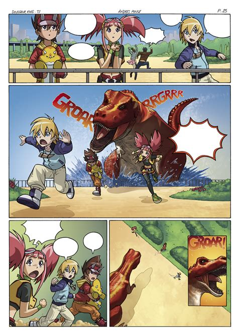 dinosaur king painting dinosaur king page 25 by ultimaterubberfool on deviantart