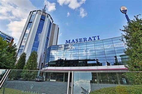 maserati modena maserati assegna la direzione centrale in europa