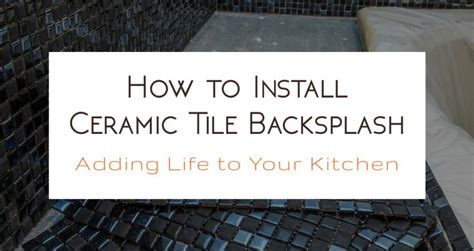 how to install ceramic tile backsplash in kitchen brick slips ceramic tiles blog tiling news tips