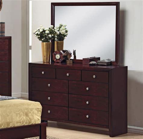Brown Bedroom Suite evan 6 bedroom suite in brown cherry finish by crown