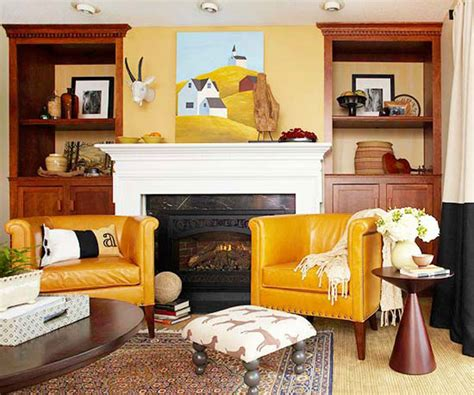 decorating with color fall colors decor with red orange gold brown