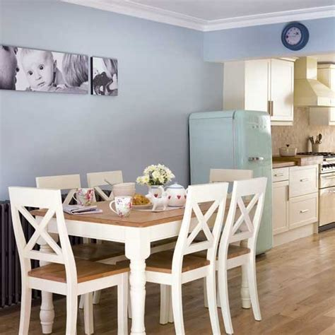 Small Dining Room Ideas Uk Pale Blue Kitchen Diner Housetohome Co Uk