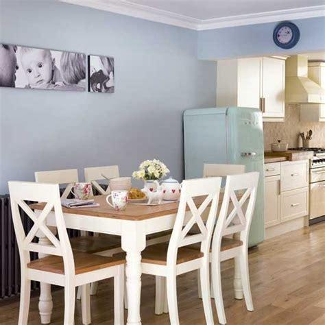 blue walls in kitchen pale blue kitchen diner kitchen extensions housetohome