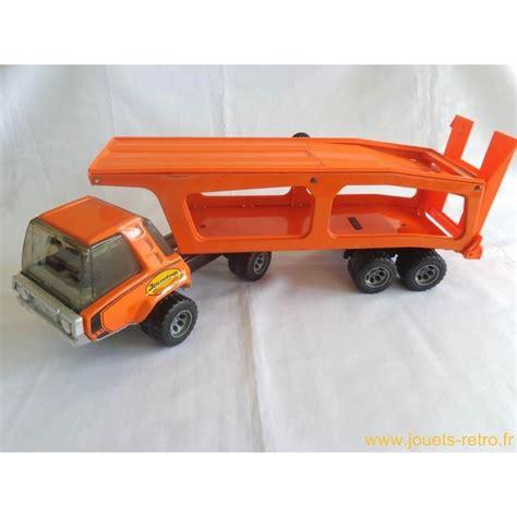 camion porte voiture jouet camion porte voitures goliath joustra jouets r 233 tro