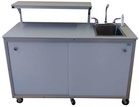 food cart with sink fsc 002 food service cart with serving shelp and