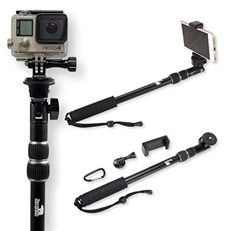 Gopro Untuk Iphone best selfie stick use as gopro pole and monopod mount go pro accessories kit use