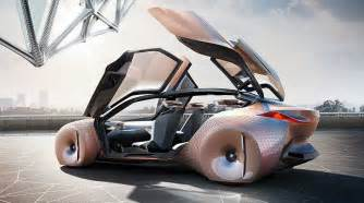 bmw s concept car is a shape shifting danger sensing