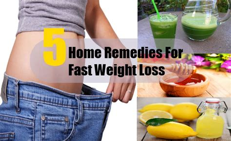 5 home remedies for fast weight loss search home remedy