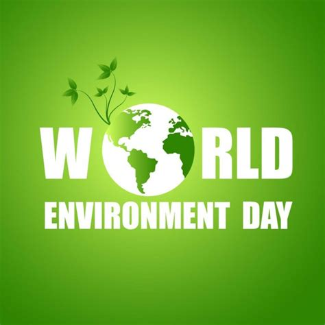 environment day green world environment day background vector free