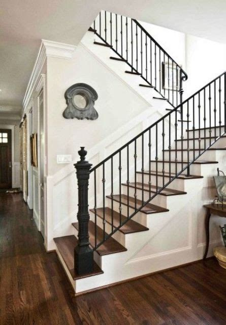 Metal Banister Rail by 33 Wrought Iron Railing Ideas For Indoors And Outdoors