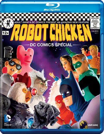 robot chicken dc comics special tv 2012 filmaffinity robot chicken dc comics special blu ray 2012