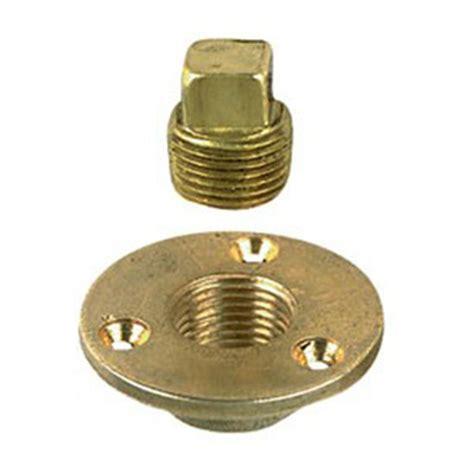 boat plug kit perko garboard brass drain and plug kit 165253