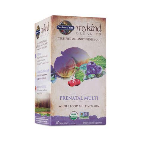 Garden Of Prenatal by Mykind Organics Prenatal Multivitamin Thrive Market