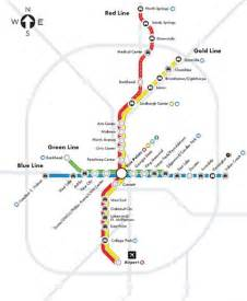 Atlanta Marta Map by Marta Routes Atlanta Ga Maps Pinterest