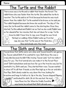 compare and contrast comprehension worksheets 5th grade