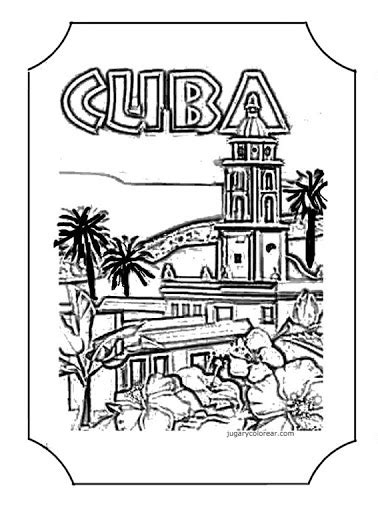 havana cuba coloring pages coloring pages