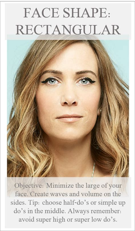 triangle and rectangular face hairstyle female rectangle face shape do s rectangle face pinterest