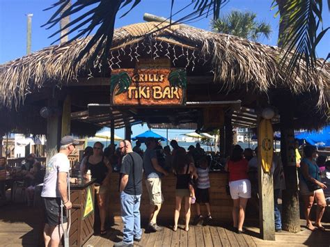 Grills Tiki Bar Grills Seafood Deck Tiki Bar Cocoa 4 Less