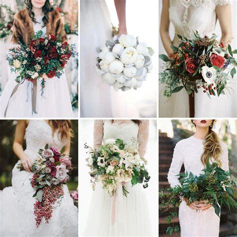 Wedding Bouquet Winter by 15 Wonderful Winter Wedding Bouquets Fiftyflowers The