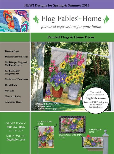 Matmates Doormats Flag Fables 2014 Spring Amp Summer Catalog By Flag Fables