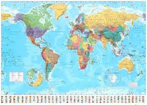 big map 37 eye catching world map posters you should hang on your