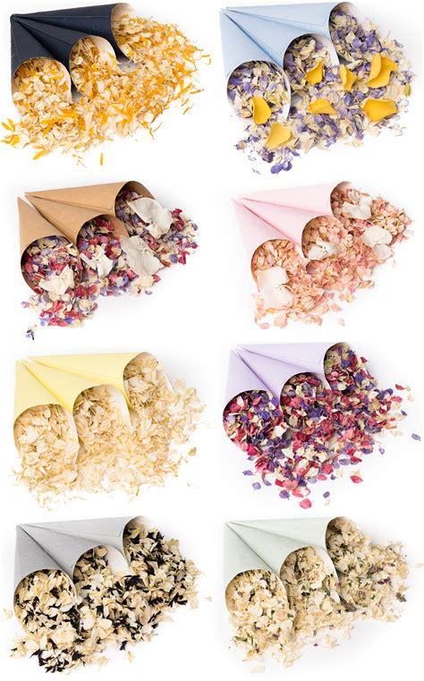 Simbalion Gallery Pastel Nature Tones Sp 12p pretty new confetti cones biodegradable confetti petal confetti petals wedding