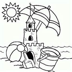 sand castle coloring page sandcastle coloring sandcastle coloring