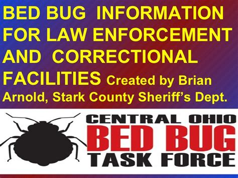 bed bug lawyer bed bug presentation for law enforcement and correctional
