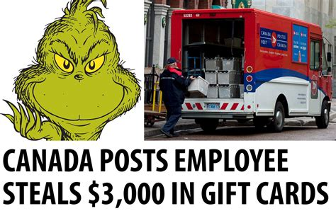 Gift Cards By Post - canada post employee steals 3 000 worth of gift cards canadian freebies coupons