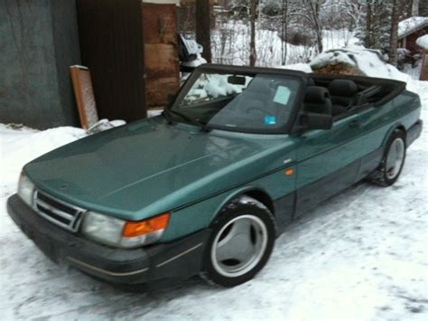 saab convertible green determination saabsunited