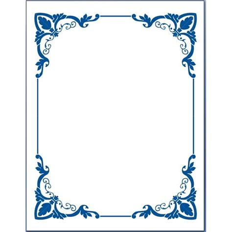 wilton ms word templates silver border place cards template the complete guide to borders for word documents