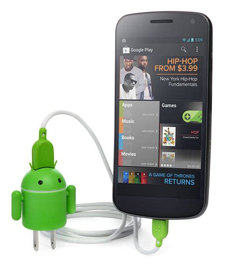 android charger andru lets you charge your android with an android technabob