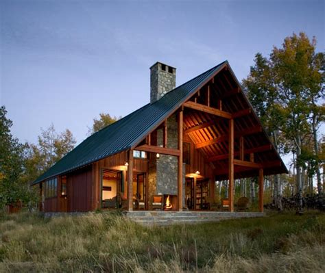 modern ranch house in colorado beautiful rustic design