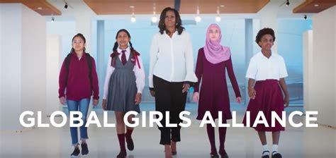 michelle obama girls alliance michel obama protagoniza la nueva ca 241 a global girls