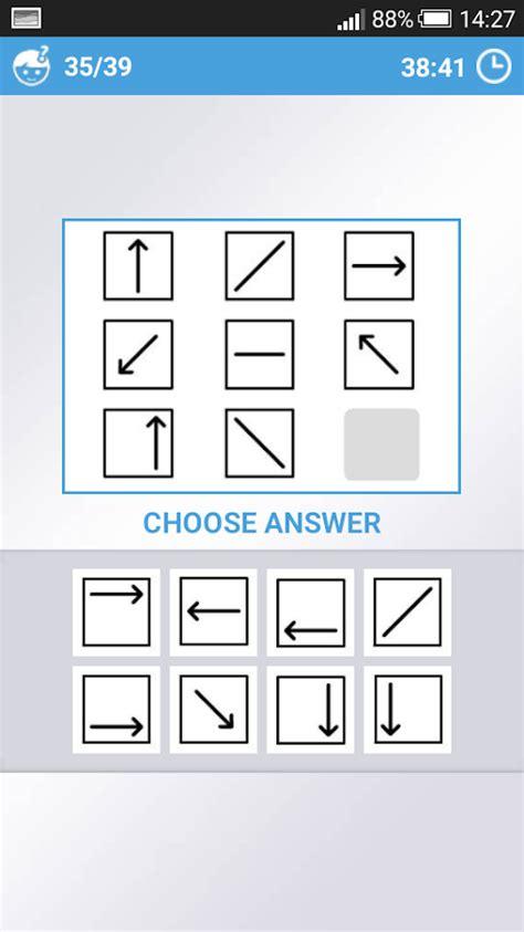 iq test mensa mensa iq test 2 0 apk android puzzle
