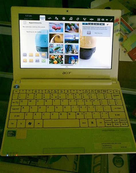 Mousepad Kecil Murah review acer one happy netbook mungil nan ceria ono
