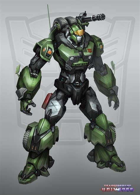 transformers 5 hound transformers universe gaame new character concept art