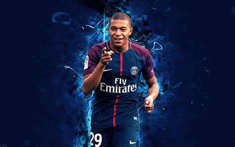 kylian mbappé quotes download wallpapers kylian mbappe 4k abstract art