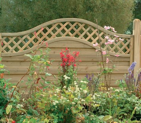 4ft Trellis Panels Forest Europa Prague 6ft X 4ft Fence Panel Gardensite Co Uk