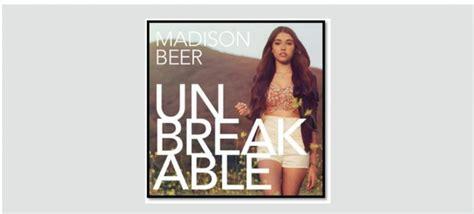 madison beer unbreakable lyrics island records madison beer to release quot unbreakable quot on