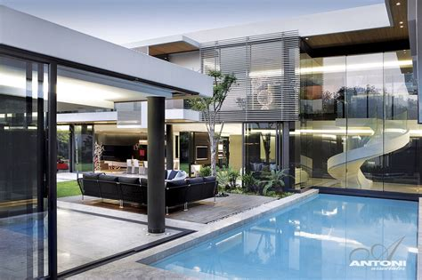 modern mansion with interiors by saota