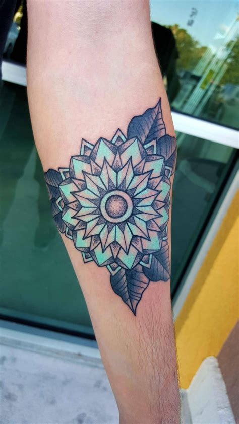 color mandala tattoo 38 colored mandala tattoos collection